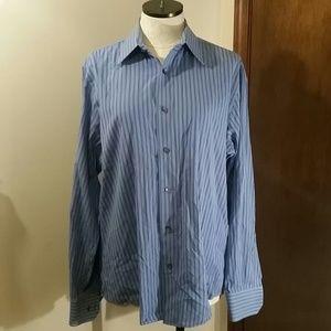 Men's Express Long Sleeve Button Down Shirt